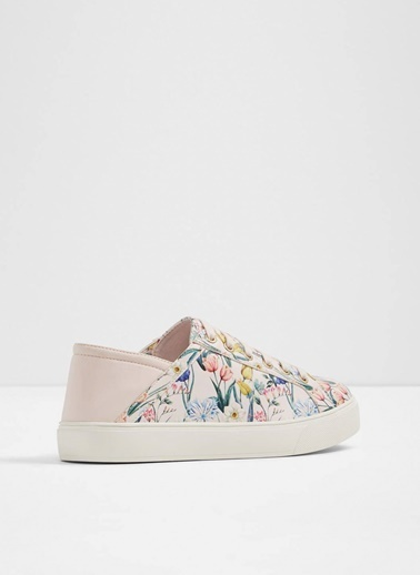 Aldo Çiçek Desenli Sneaker Ayakkabı Pembe